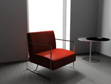 Free Armchair In The Office Stock Photography - 9223252