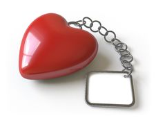 Free Heart Collection - Push Here Royalty Free Stock Image - 9223306