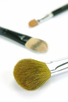 Free Makeup Brushes Stock Photo - 9223440