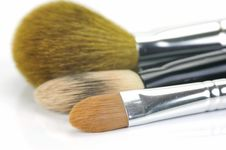 Free Makeup Brushes Stock Image - 9223451