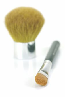 Free Makeup Brushes Stock Photography - 9223462