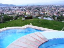 Free Jacuzzi With A View Stock Images - 9224094