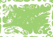 Free Grunge Green Decorative Background Royalty Free Stock Images - 9224909