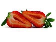 Free Cut Strawberries Royalty Free Stock Photo - 9225495