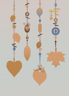Free Decorative Wind Chimes Royalty Free Stock Images - 9225919
