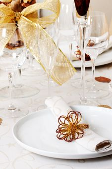 Free Plate And Napkin Stock Photography - 9226072