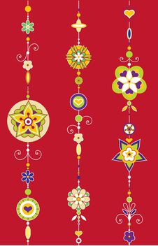Free Decorative Wind Chimes Royalty Free Stock Image - 9226256