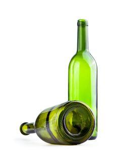 Free Green Bottle Royalty Free Stock Image - 9226516