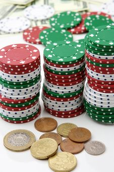 Free Casino Royalty Free Stock Photos - 9227988