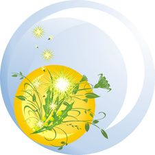 Free Dandelions And Grass Stock Photo - 9228050