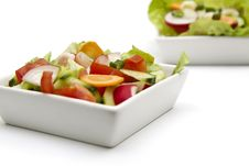 Free Fresh Salad Stock Photography - 9228432