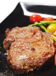 Free Hot Meat Dishes - Ribai Royalty Free Stock Photo - 9228515
