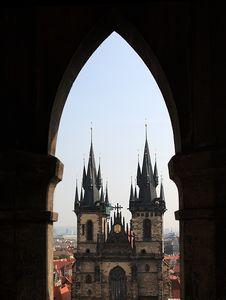 Free Staromestske Square In Prague Stock Photos - 9229823
