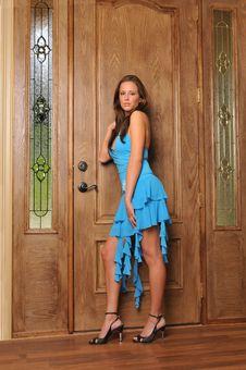 Free Beautiful Brunette Model Stock Photos - 9229873