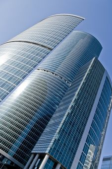 Free Skyscrapers Diagonal. Stock Photos - 9229913