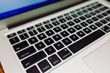 Free Close-up Of Laptop Keyboard Royalty Free Stock Images - 92236569