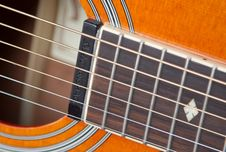 Free Close-up Of Guitar Royalty Free Stock Images - 92236709
