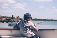 Free Gone Fishing Royalty Free Stock Photography - 92237237