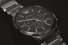 Free Analogue Armani Watch Stock Photo - 92238040