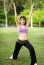 Free Fitness Series Stretching Stock Images - 9230394