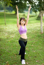 Free Fitness Series Stretching Stock Photos - 9230933
