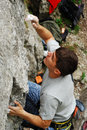 Free Climber In Action Royalty Free Stock Photography - 9230957