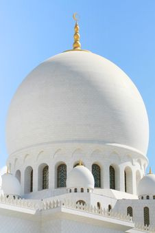 Free Close-up Of White Mosque Stock Images - 9231094