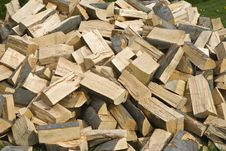 Free Woodpile Royalty Free Stock Photography - 9231207