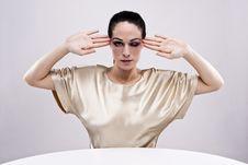 Free Brunette Fashion Woman Royalty Free Stock Image - 9231416