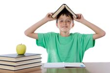 Free Adorable Student Boy Stock Photography - 9231552