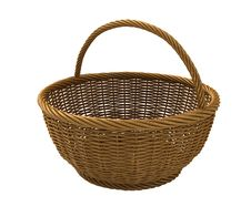 Free Handle Basket Royalty Free Stock Image - 9232536