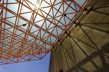 Free Truss And Shadow Stock Images - 9232694