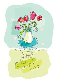 Free Tulips Stock Photography - 9232712