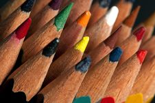 Free Old Color Pencils Stock Photos - 9233373