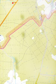 Free Map Royalty Free Stock Photo - 9233505