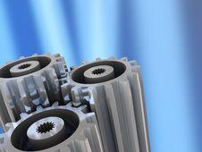 Free Gear Wheels Stock Image - 9234691