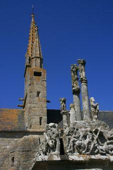 Free Church In Bretagne Stock Image - 9235181