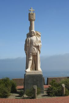Free Cabrillo Monument 505 Royalty Free Stock Image - 9235486