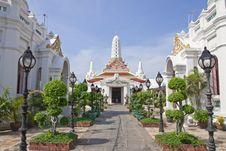 Free Temple In Bangkok, Thailand Stock Image - 9237401