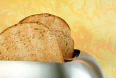 Toasted Bread In A Toaster
