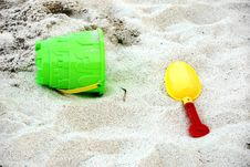 Free Beach Toys Series Royalty Free Stock Photography - 9238347