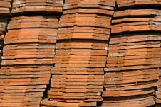 Old Tiles Royalty Free Stock Photography