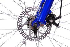 Free Bicycles Brake Rotor Royalty Free Stock Image - 9239426