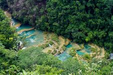 Free Semuc Champey Natural Wonder Stock Photo - 92329770