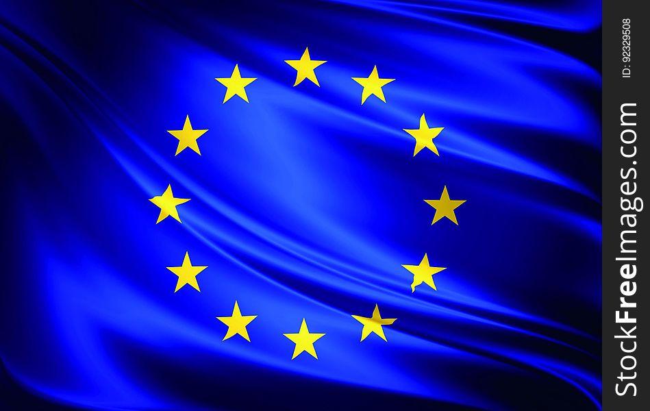 Drapeau de l&x27;Union Européenne