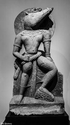 Free Vishnu As The Boar Avatar Stock Photo - 92330060