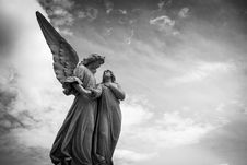 Free Angel Statue Stock Photos - 92330623