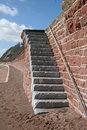 Free Staircase In Sea Wall Royalty Free Stock Images - 9244009