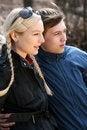 Free Teenager Flirting Royalty Free Stock Photos - 9245798
