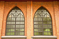 Free Windows Of Gothic Style Church Royalty Free Stock Image - 9247556